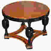 Swedish Art Deco Round Side Table