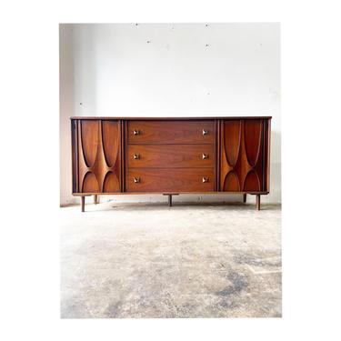 Mid Century Modern Broyhill Brasilia Dresser or Credenza by FlipAtik