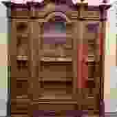 Item #DMC30  Mid19th Century Large Scale French Walnut Cabinet c.1850