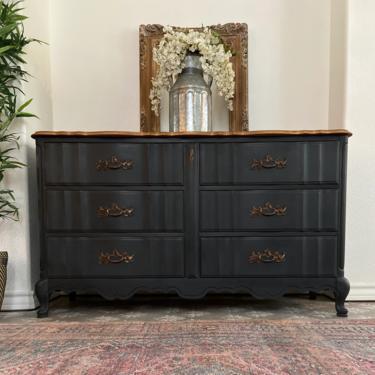 Vintage Bassett French Provincial Dresser *Local Pick Up Only by BluePoppyFurniture