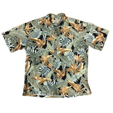 (L) Cooke Street Leaves Hawaiian Shirt 072921 LM