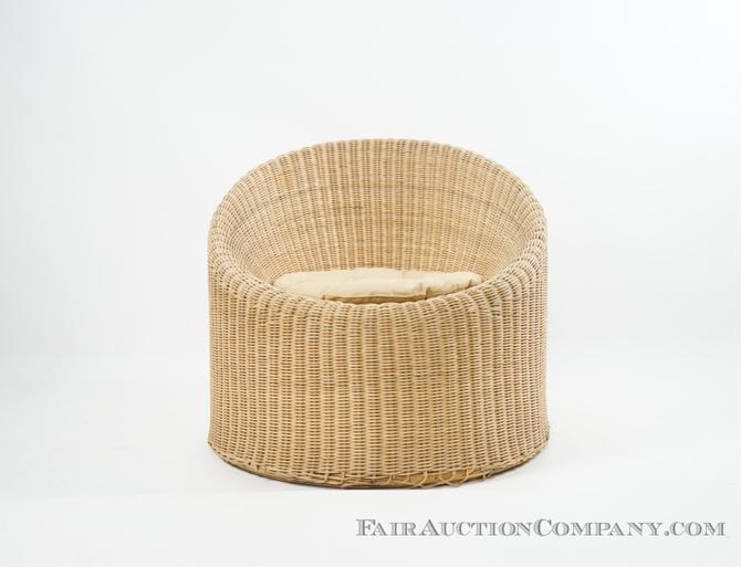 Wicker Chair - Attrib. to Isamu Kenmochi