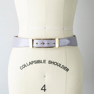 1950s Belt Leather Waist Cinch S by dejavintageboutique