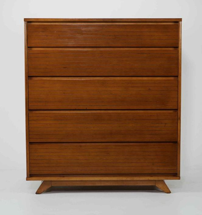 Tall Dresser - Attrib. Raymond Loewy
