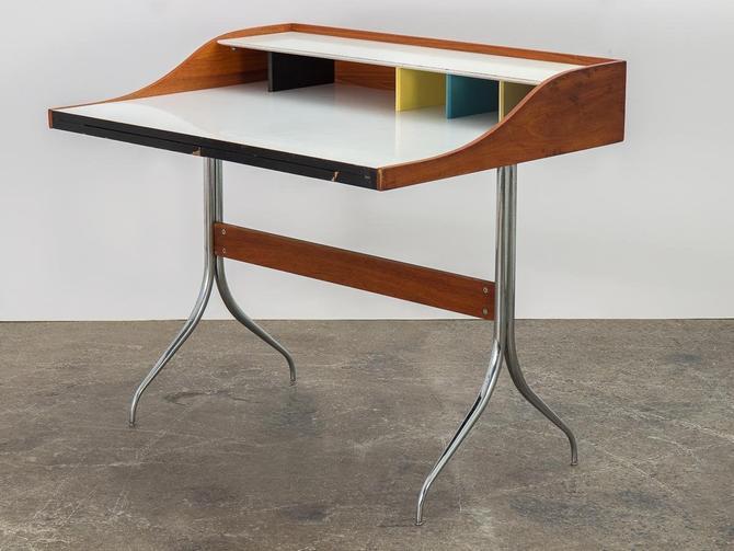 1950s George Nelson Swag Leg Desk by openairmodern