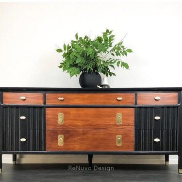 Mid Century Modern Dresser  SOLD! by ReNuvoDesign