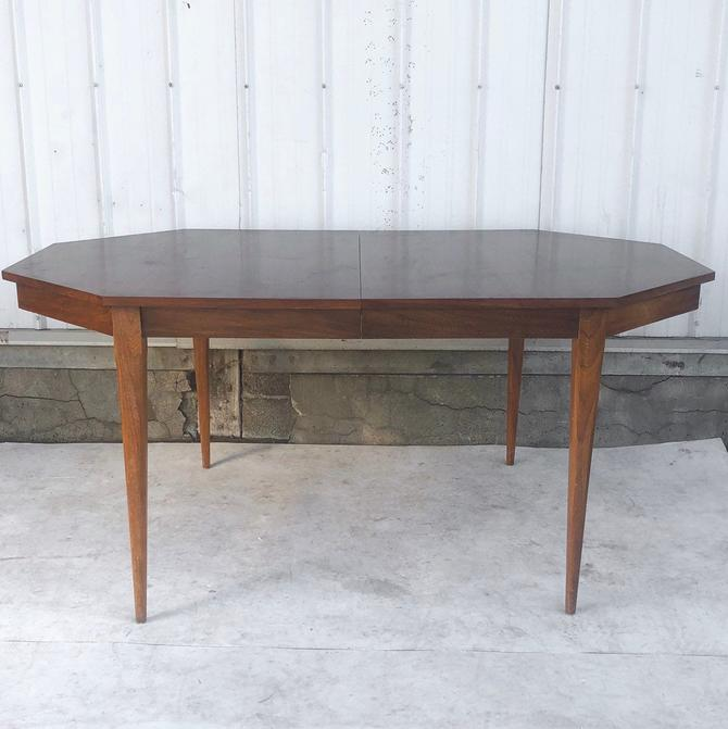 Mid-Century Modern Dining Table w/ Leaf by secondhandstory