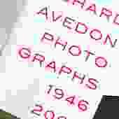 Richard Avedon Photography Book