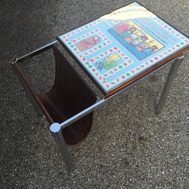 Upcycle vintage board game table by AgentUpcycle