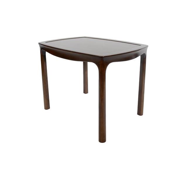 Edward Wormley Walnut Side Table Dunbar Mid Century Modern by HearthsideHome