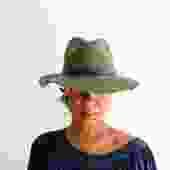 Ecote Wide Brim Wool Hat
