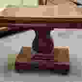 Item #DMC10 Victorian Mahogany Console / Games Table c.1860