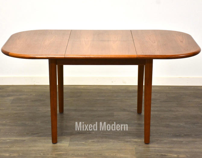 Teak Butterfly Leaf Dining Table by mixedmodern1