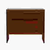 Danish Modern Teak 4 Drawer Chest / Dresser