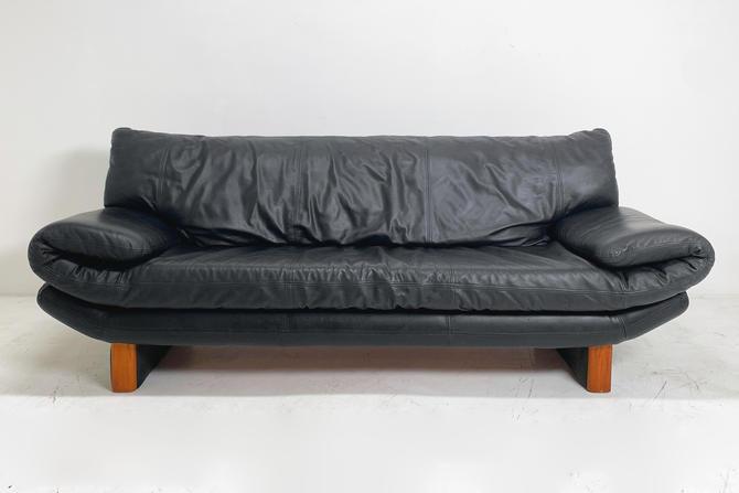 Danish Leather Sofa by BetsuStudio