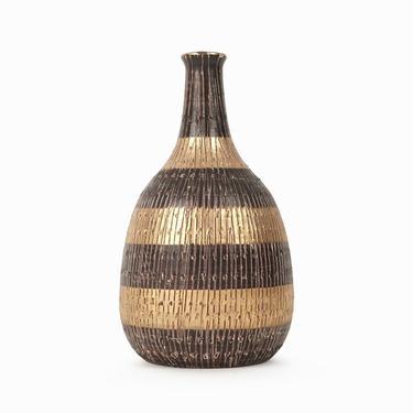 Vintage Italian Ceramic Vase Mid Century Modern Italy Fine Art Ceramics by VintageInquisitor