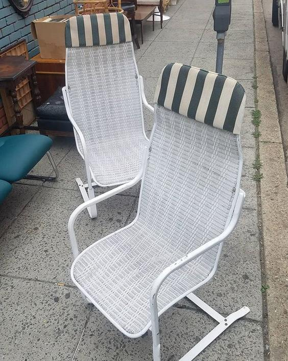 Patio Rockers, $93, pair.