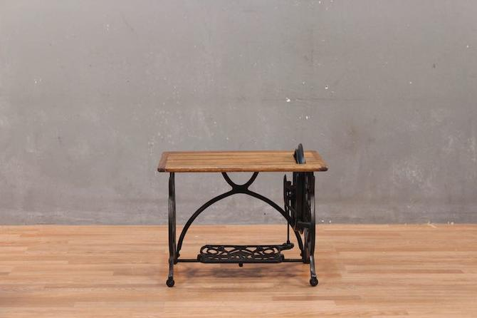 Petite Domestic Sewing Machine Coffee Table