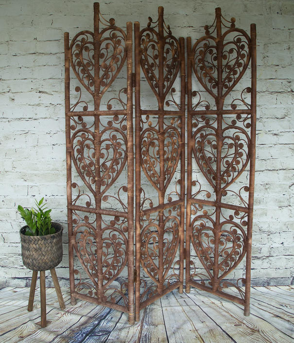 SHIPPING NOT FREE!!! Vintage Ornate Room Divider/Wall Art by WorldofWicker