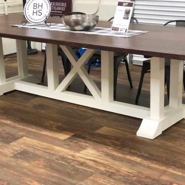 Modern Farmhouse Modern Dining Table by HickoryandHaze