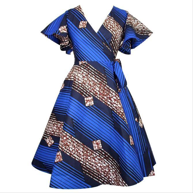 Cecey Wrap Dress