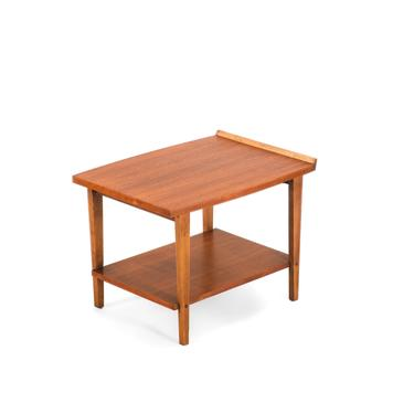 Mid Century Modern Two Tiered End Table / Side Table by Lane by ABTModern