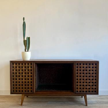 Mid Century Record Console (fully functional)