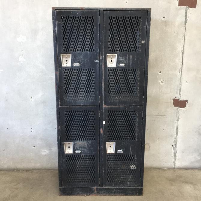 Industrial Black Cage Lockers