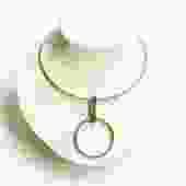 Sterling Silver O-Ring Choker