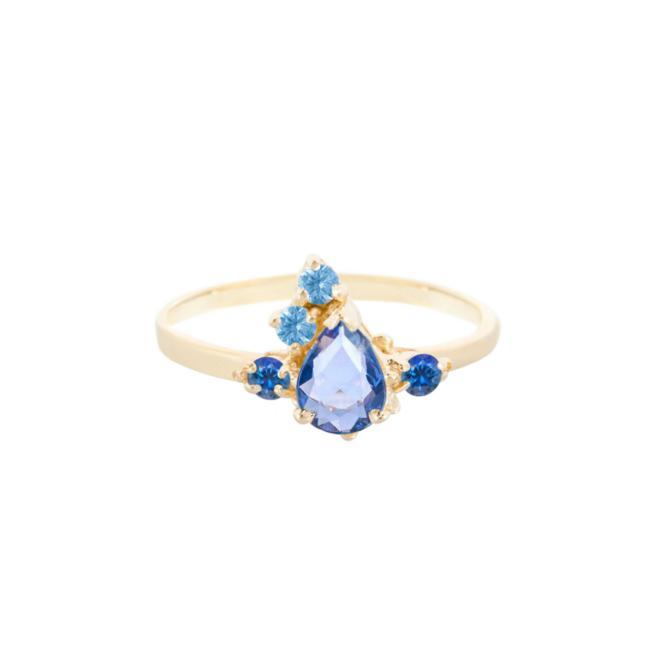 Fairy Ring - Blue Sapphire