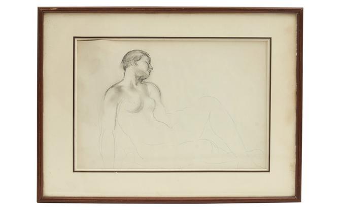 Vintage Figure Study