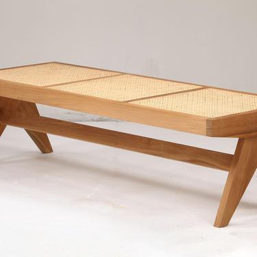 Pierre Jeanneret Bench Teak by ShopInteriorTonic