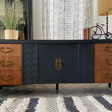 Vintage Mid Century Dresser Credenza by American of Martinsville *Local Pick Up Only by BluePoppyFurniture
