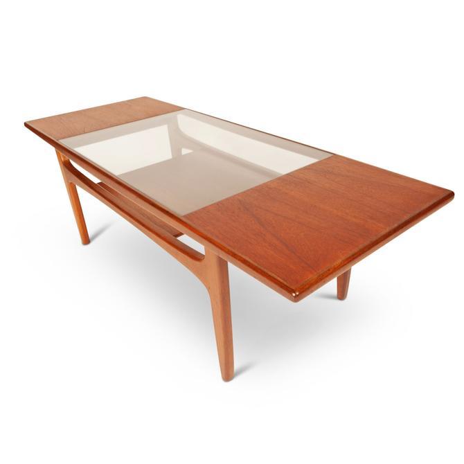 "Vintage G-Plan 1960 ""Fresco"" Teak & Glass Coffee Table by MCMSanFrancisco"