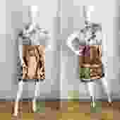 Vivienne Tam Buddha Skirt