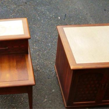 Mid Century Livingroom 2 Table Set by Dishrecon