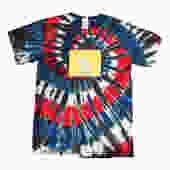 sPACYcLOUd Tie Dye Bernie Elephant Swirly T-Shirt
