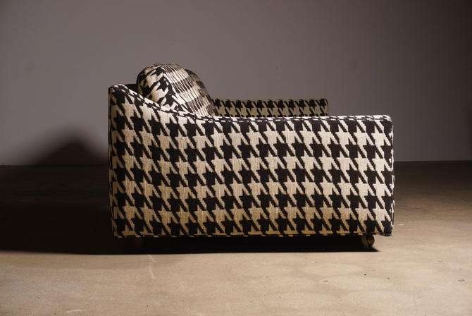 Milo Baughman Houndstooth Sofa by Thayer Coggin by midcenTree
