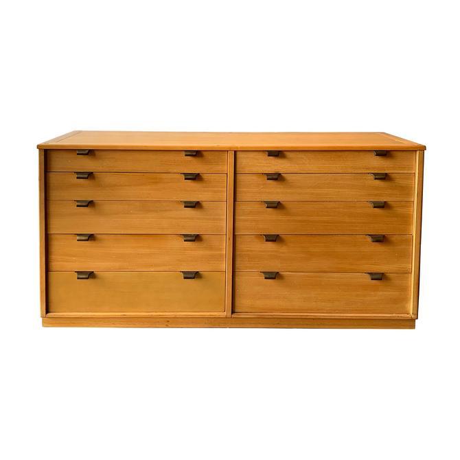 Mid Century Dresser Edward Wormley Drexel Precedent 10 Drawer Chest by TheModernHistoric