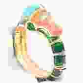 Hattie Carnegie Seahorse Bracelet