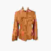 Fringe Suede Leather Jacket, 50's Clothing, Midcentury Modern   Vintage Clothing Jacket, Boho,Cowgirl,Hippie   Cowboy, Western, Brown by DakodaCo