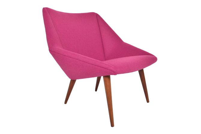 Danish Mid Century Modern Nanna Ditzel Lowback Tux Lounge Chair in Teak by MidCenturyMobler