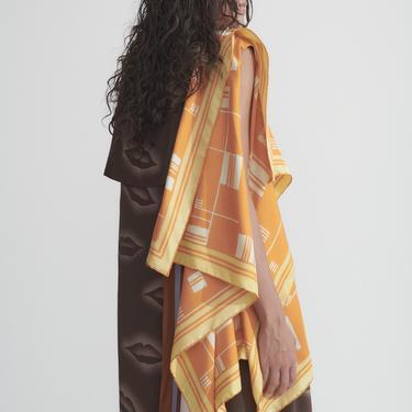 Dries Van Noten Silk Scarf Dress