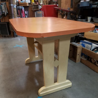 Really cool hand-crafted wood Table 46 x 30.5 x 30