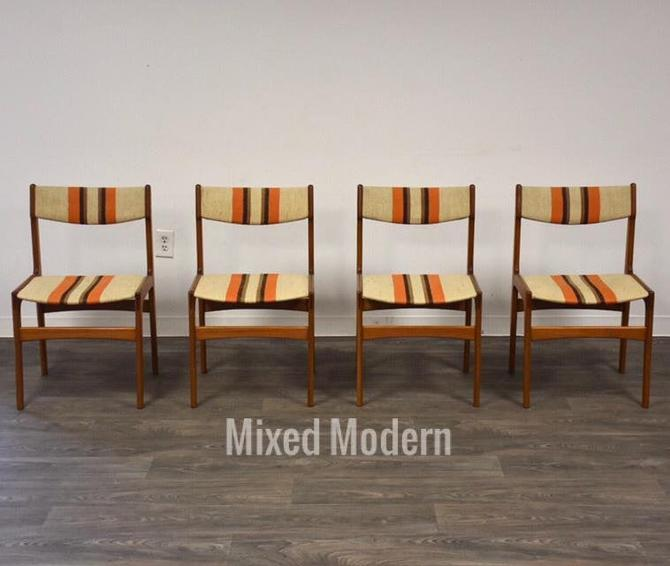 Teak Dining Chairs by Erik Buch- Set of 4 by mixedmodern1
