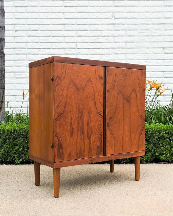 Danish Modern Teak Cabinet by Hans Olsen by VintageSupplyLA