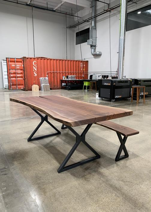 Custom live edge table FREE QUOTE ONLY by TheBeardedBowtie