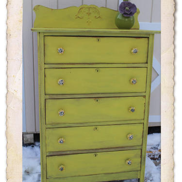Antique Chest of Drawers FCD1511