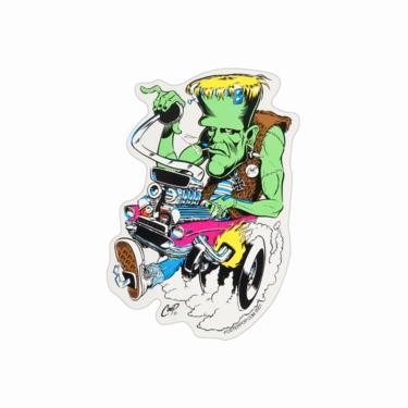 2001 Poster Pop Sticker Monster Rod Coop by VintageInquisitor