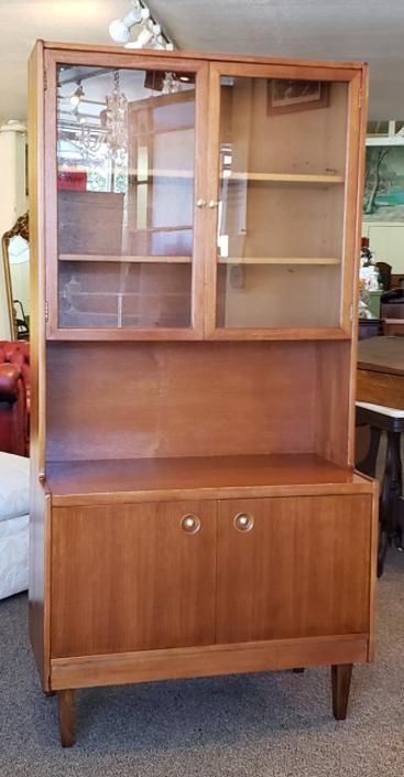 Item #U418 Mid Century Modern Teak Cabinet c.1960
